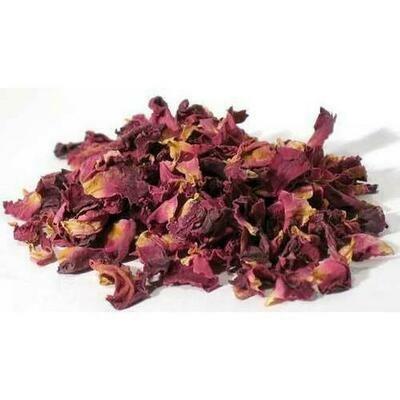 Rose Buds & Petals, Red 2oz (Rosa gallica)