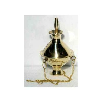 Brass Hanging incense burner
