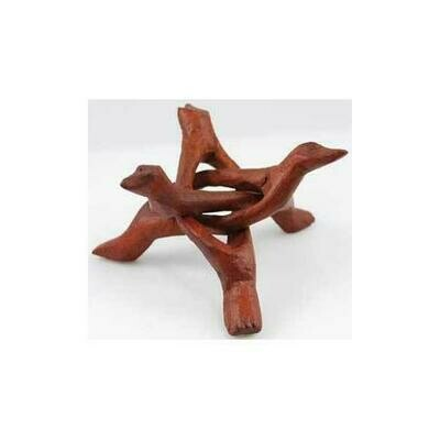 3-Legged Wooden stand 4