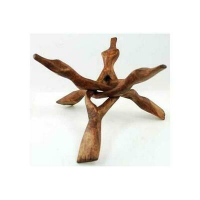 3-Legged Cobra Wooden stand 8