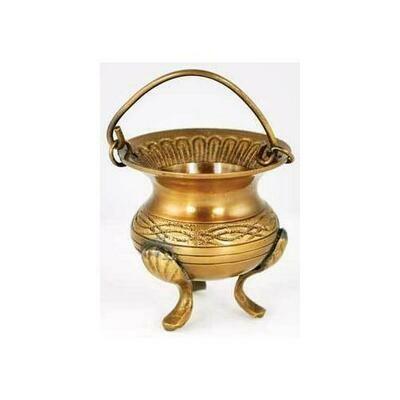 Celtic Brass Cauldron 3