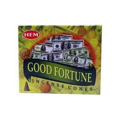 Good Fortune HEM cone 10 cones