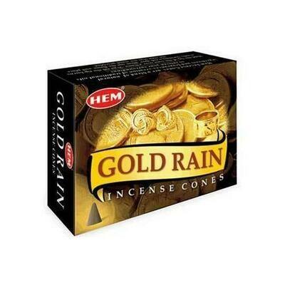 Gold Rain HEM cone 10 cones