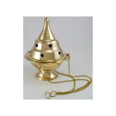 Hanging Brass Censer