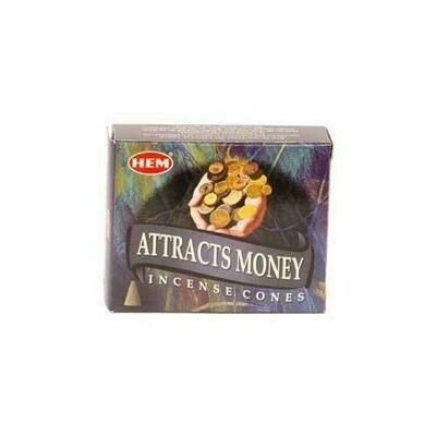 Attracts Money HEM cone 10 cones