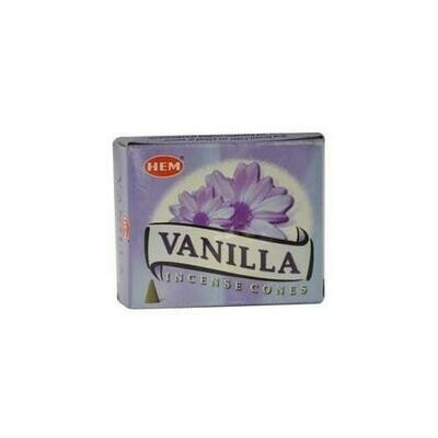 Vanilla HEM cone 10 cones