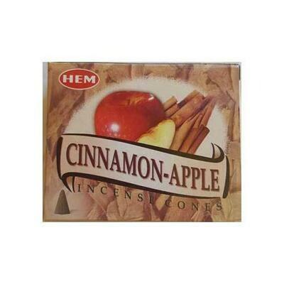 Cinnamon-Apple HEM cone 10 cones