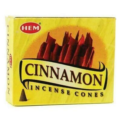 Cinnamon HEM cone 10 cones