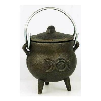 Triple Moon cast iron cauldron 3
