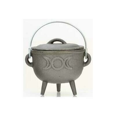 Triple Moon cast iron cauldron  4