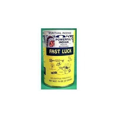 Fast Luck powder incense 1 3/4 oz