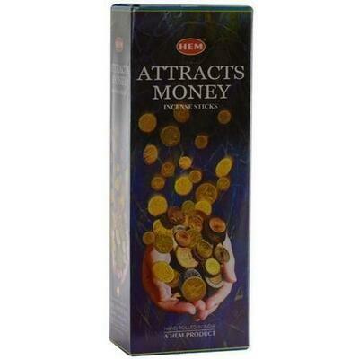 Attracts Money HEM stick 20 pack