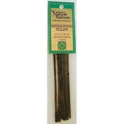 Yellow Sandalwood nature nature stick 10 pack