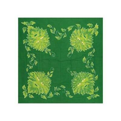 Green Man  altar cloth or scarve 36
