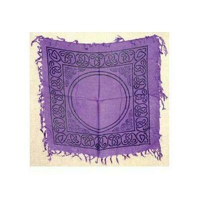 Celtic altar or tarot cloth 18