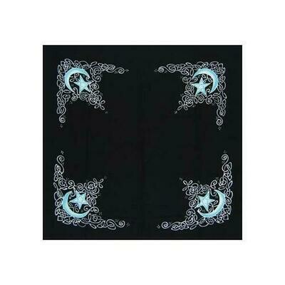 Celtic Moon altar cloth or scarve 36
