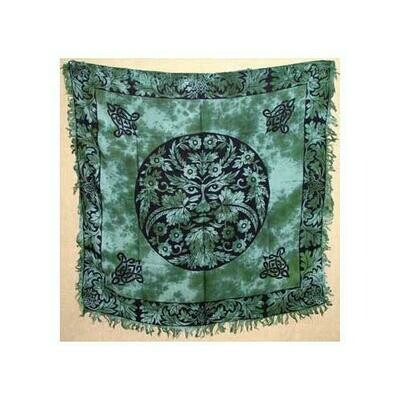 Greenman altar cloth 36
