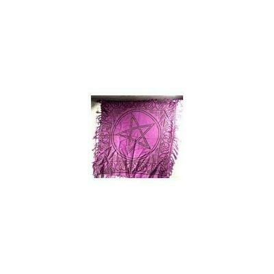 Pentagram altar cloth 18