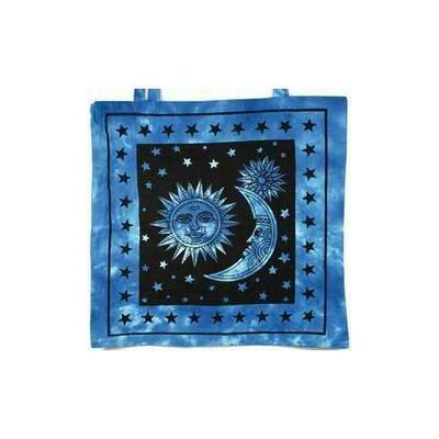 Sun and Stars Tote Bag