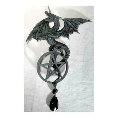 Dragon/Pentagram dream catcher