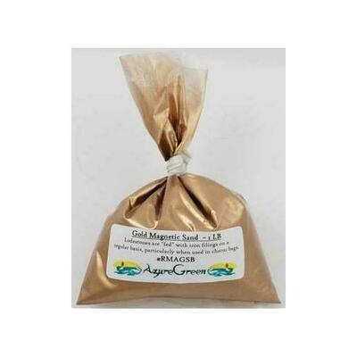 1 Lb Gold Magnetic Sand  (Lodestone Food)