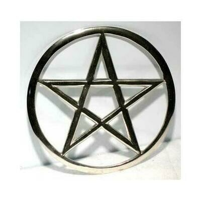 Cut-Out Pentagram altar tile 5 3/4