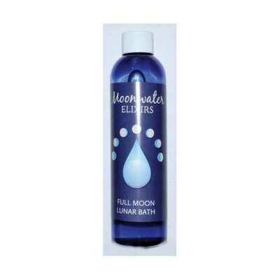 8oz Full Moon bath oil moonwater elixir