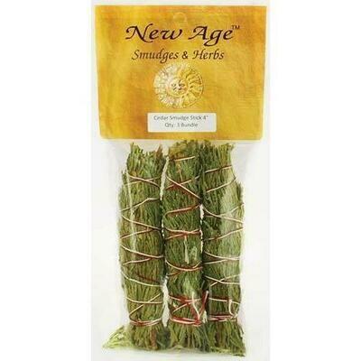 Cedar smudge stick 3-Pack 4