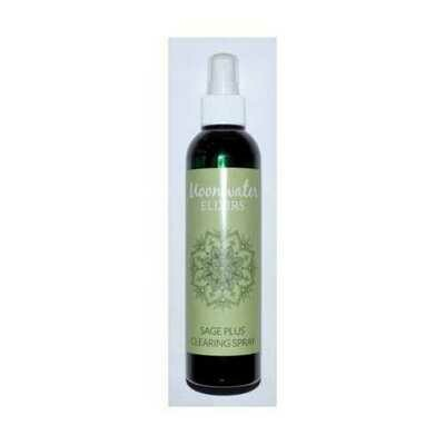 8oz Sage Plus Mist moonwater elixir