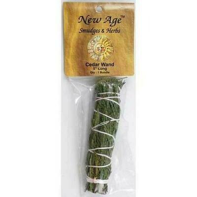 Cedar smudge stick 4