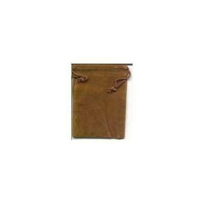 Brown Velveteen Bag