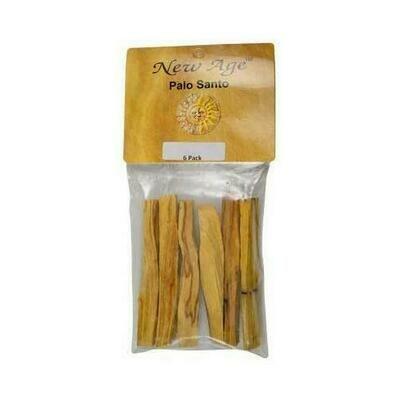 6 pack Palo Santo smudge sticks 3 1/2