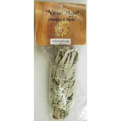 White Sage smudge stick 5-6