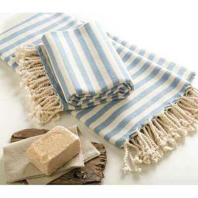 Handmade Cotton Beach Towel Turkish Towel Ada