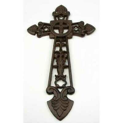 Large Cast Iron Cross