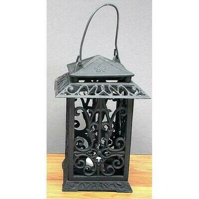 Cast Iron Square Lantern