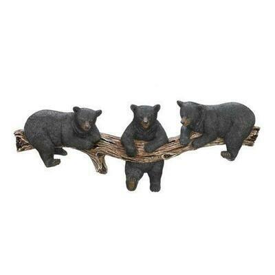 Black Bear Wall Hooks