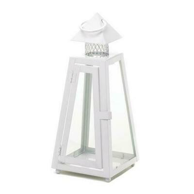 White Coastal Lantern