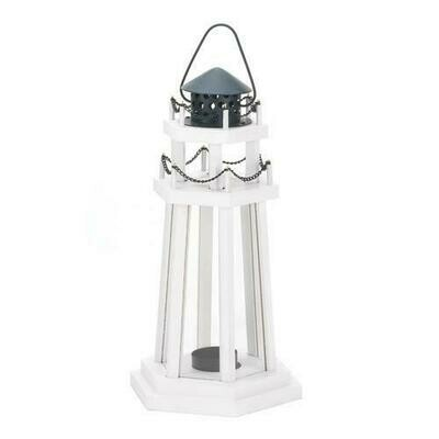Lighthouse Point Wooden Lantern