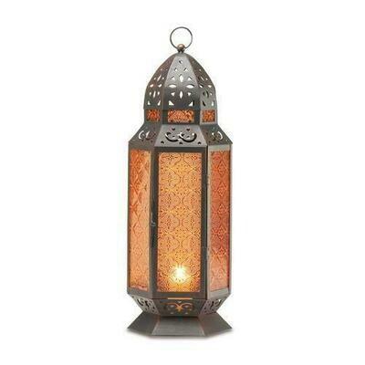 Tall Moroccan Candle Lantern