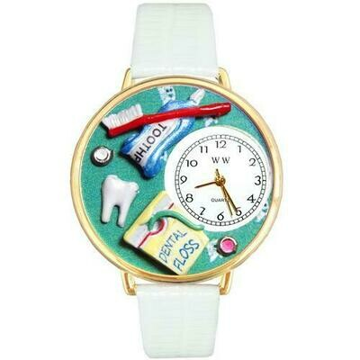 Dental Assistant Watch in Gold (Large)