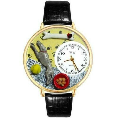 Greyhound Watch in Gold (Large)