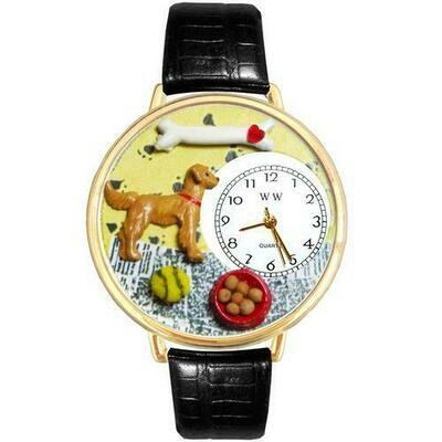 Golden Retriever Watch in Gold (Large)