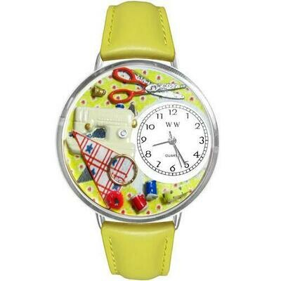 Sewing Watch in Silver (Large)