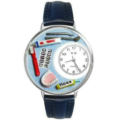 Dentist Watch in Silver (Large)