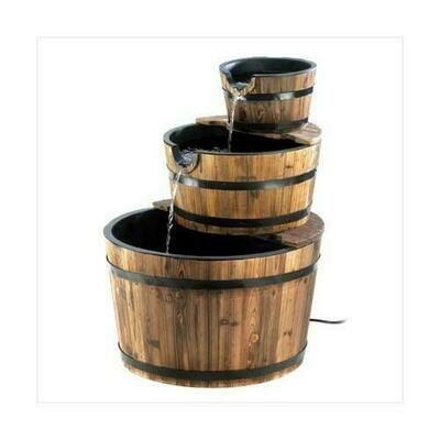 Apple Barrel Fountain (pack of 1 EA)