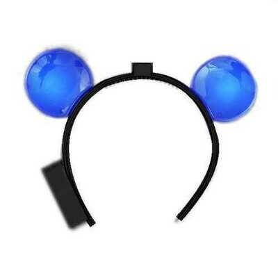 LED Mouse Ears Blue