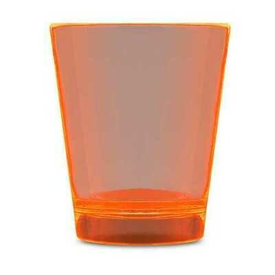 Glow In The Dark Shot Glass Orange