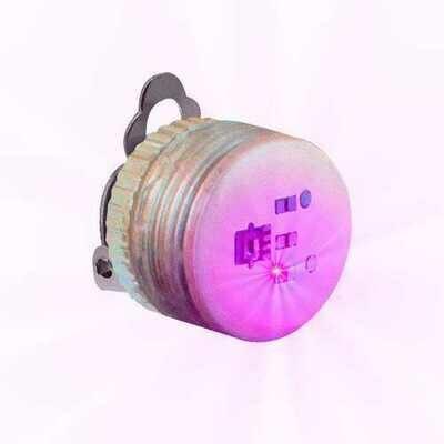 Pink Pink Flashing Body Light Lapel Pins