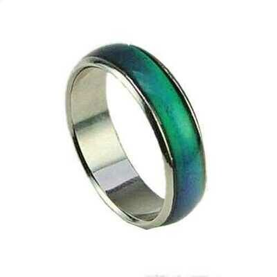 Size 8 Seventies Mood Rings with 1 Free E Mood Ring